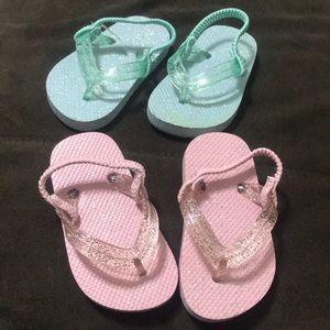 Other - Baby flip flop bundle